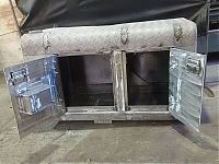 Aluminium storage compartment