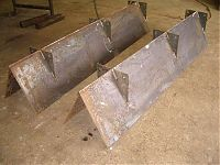 internal baffle plates for cement silo