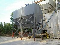 Installation of a 60 ton silo