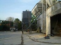 Installation of a 60 ton silo